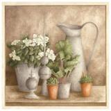 Pot a Eau et Fleurs Posters par Vincent Perriol