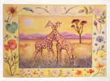 Giraffe Prints by Vivika Maroney