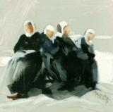 Les Frilleuses Posters af Maryvonne Jeanne-Garrault