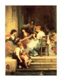 Venetian Life Prints by Samuel Luke Fildes