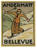Andermatt Bellevue Poster