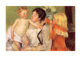 After the Bath Prints by Mary Cassatt
