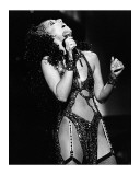 Cher Performing Poster