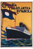 Compania Transatlantica Espanola Giclee Print