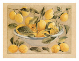 Coupe d'Agrumes, Citrons Prints by Laurence David