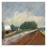 Pastel Fields Vi Planscher av Jacques Clement