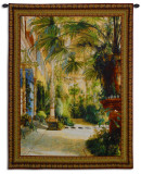 The Palm House Wall Tapestry by Karl Blechen