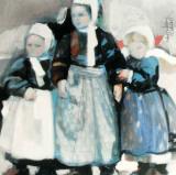 En Attendant Poster by Maryvonne Jeanne-Garrault