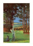 Golfer Poster von Michael Vaughan