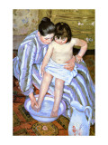The Bath Giclee Print by Mary Cassatt