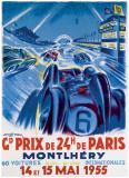 Grand Prix de Montlhery Reproduction procédé giclée par Geo Ham