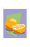 Tangerine Giclee Print by  ATOM