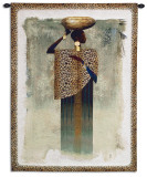 Worldly Woman I Wall Tapestry by Teresa Joseph