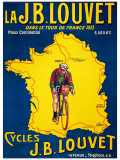 Tour de France, c.1913 Giclée-Druck
