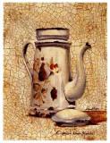 La Cafetière Blanche Art by Pascal Cessou