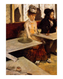 L&#39;Absinthe Giclee Print by Edgar Degas