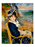 By the Sea Shore Giclee Print by Pierre-Auguste Renoir