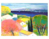Le Jardin Sur la Mer Posters by Jacques Petit
