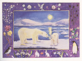 Polar Bear Poster by Vivika Maroney