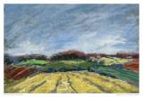Pastel Field I Kunst av Jacques Clement