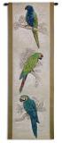 Tropical Birds Wall Tapestry by Chad Barrett