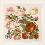Buisson de Roses IV Print by Laurence David