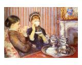 Fünfuhrtee Giclée-Druck von Mary Cassatt