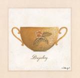 Darjeeling Kunstdruck von Sylvie Langet