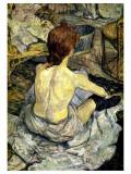 La Toilette Giclee Print by Henri de Toulouse-Lautrec