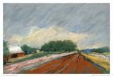 Pastel Field II Plakater av Jacques Clement