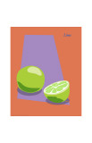 Lime Giclee Print by  ATOM