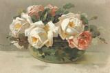 Corbeilles de Roses I Affiches par C. Klein