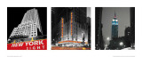 Manhattan Notturno I Prints