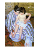 Le bain Impression giclée par Mary Cassatt