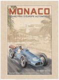 Grand Prix Automobile d'Europe, c.1955 Art by Bruno Pozzo
