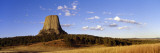 View of Forestry around Base of West Side of Devils Tower Photographic Print by Jeff Foott
