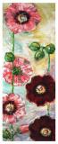 Roses Trémières II Posters by Mette Galatius