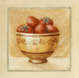 Bol de Fraises Prints by Eric Dauphin