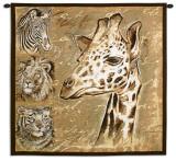 Safari Wall Tapestry by Chad Barrett