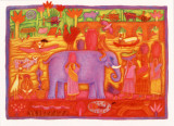 The Bhils of the Narmada Valley Prints by Sue Williams