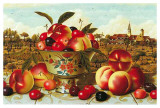 Nature Morte aux P&#234;ches Posters by Charles Joly