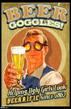 Beer Goggles Print