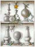 Etagere, Etoile Dorée Posters par Michele Letang