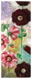Roses Trémières I Prints by Mette Galatius