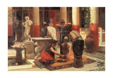 Pompeian Interior II Poster by Prosper Piatti