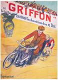 Griffon Reproduction procédé giclée par  Trinquier-Trianon