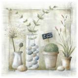 Je Suis au Jardin Prints by Joelle Wolff