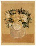 Bouquet Jaune I Affiches par Laurence David