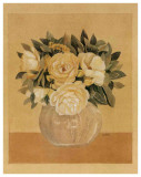 Bouquet Jaune I Prints by Laurence David