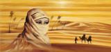 Caravan I Plakat av Ali Mansur